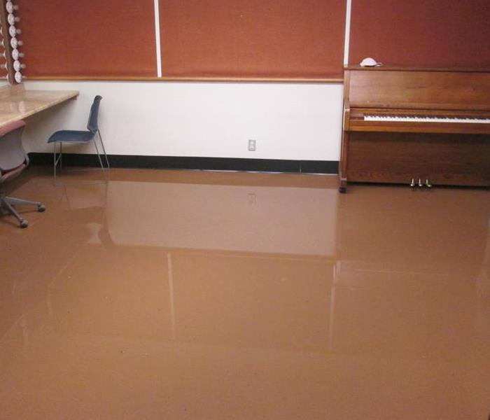 Monsoon Flood thru School