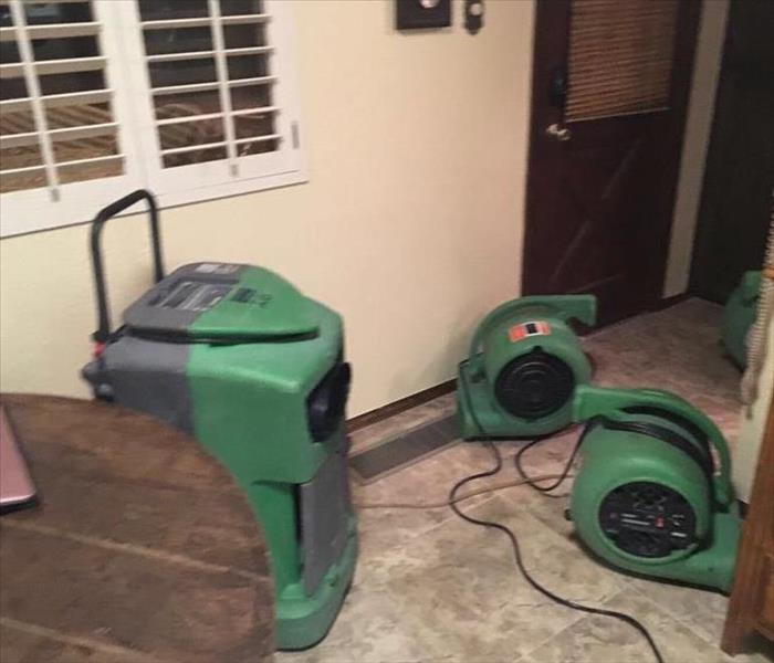 Storm Damage Floods from Monsoons and Other Causes in Phoenix Homes Get Help for Water Extraction from SERVPRO