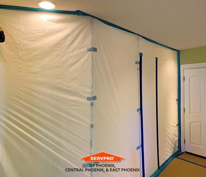 Containment for Mold Remediation